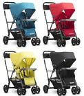 Joovy Caboose Graphite Ultralight Double Stand On Tandem Stroller 4 Color Choice фото