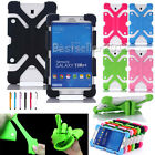 "US For 7 - 8"" Android Tablet Kids Safe Shockproof Adjustable Silicone Case Cover"