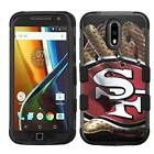 San Francisco 49ers #G Rugged Impact Armor Case for iPhone 5s/SE/6/6s/7/Plus