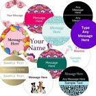 Large 63.5mm Personalised Business/Company Name Labels/stickers, Thank You Seals