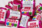 PERSONALISED LOVE HEART HEARTS SWEETS HEN NIGHT FAVOURS