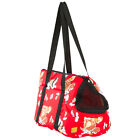 Red Designer Soft Small Pet Carrier Tote Bag