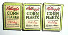 2 Lot Vintage Kelloggs Kellogs Corn Flakes Sample Cereal Box