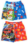 Boys Character Swim Shorts Paw Patrol and Blaze 1.5 years up to 5 years