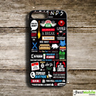 Friends TV Show Sitcom Funny quotes Case Cover for iPhone 7 7+ 6S 6 Plus 5S SE