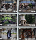 Walking Dead Season 5 Locations Complete 7 Chase Card Set L-1 to L-7
