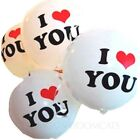 "wedding engagement Gift Photo I Love You Party Supply bulk Balloons 12"" X 10 pcs"