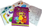 MOSHI MONSTER CREATIVE A6 ACTIVITY STICKER BOOK CHILDRENS PARTY BAG FILLERS