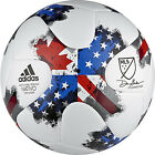 adidas 2017 MLS Top Glider Soccer Ball - White/Red