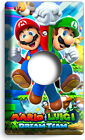 SUPER MARIO AND LUIGI BROS LIGHT SWITCH OUTLET WALL PLATE COVER GAME ROOM DECOR