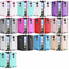 Combat Dual Hybrid Protector Case Phone Cover for Huawei Sensa LTE H715BL H710VL