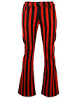 NEW Sixties Mod 60s Striped/Stripe/ FLARES TROUSERS Beatles Harrison 70s MC105