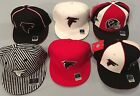 ATLANTA FALCONS SELECT 1 OF 6 FLAT BRIM FITTED OFFICIAL LICENSED NFL CAP REEBOK