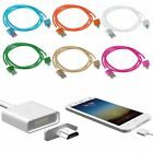 Micro USB Charging Cable Magnetic Braided Adapter Charger For Samsung LG HTC