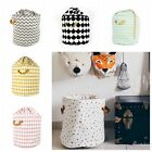 Zakka Large Storage Bag Kid Toys Organizer Laundry Bag Stripes Beam Bag Play Mat