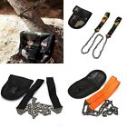New Camping Hiking Emergency Survival Hand Tool Gear Pocket Chain Saw Chain Saw
