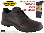 MENS WALKING SHOES  VIBRAM SOLES - GRISPORT EXMOOR - WATERPROOF SHOES