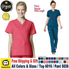WonderWink Origins TOP 6016 PANTS 5026 Scrubs Set Medical  B