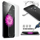 6Pcs Tempered Glass Protective Screen Protector Film for iPhone 10 X 6S/7/8 Plus