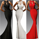 Lace Women's Backless Wedding Fishtail Bridal Full-Length Slim Sexy Gown 3 color