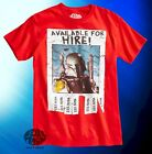 New Star Wars Boba Fett Available for hire Mens Vintage T-Shirt $25.28 CAD on eBay