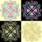 Anemone Quilt Squares 5-DESIGN 4-an Anemone Machine Embroidery single in 4 sizes