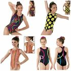 NEW Fun Wild Vivid Racer Back Dance Gymnastics Leotard Child & Adult Sizes