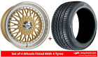 Alloy Wheels & Tyres 15'' Calibre Vintage For Ford Street KA 03-08