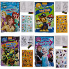 Set Of 15 Bendon Kids Play Packs Fun Party Favors Coloring Book Crayons Stickers