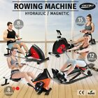 Genki Hydraulic / Magnetic Rowing Machine Rower Fitness Resistance Exercise Gym