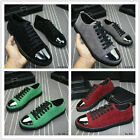 New fashionable men's shoes breathable Pig leather casual shoes