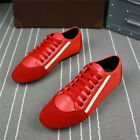 Fashion Men's Breathable Sneakers Sport Casual Running Leather Flats Shoes