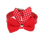 Small Leather Collar Dog Pet Cat Puppy Collar Neck Buckle Adjustable Nacklace