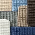 Long Memory Foam Bath Mat Woven Jacquard Soft Quick Dry 24 x 59 Inches