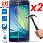 2X Tempered Glass Screen Protector 9H Film For Samsung Galaxy A5 A7 A3 2016/2017
