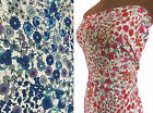 Lightweight Crepe / Georgette / Crepe de Chine Polyester Floral Print Fabric