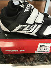 FLY RACING TALON 2 CLIP SHOE YOUTH BLK/WHT