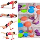 Massage Ball PVC Gym Training Spiky Half Ball Trigger Point Body Muscle Exercise