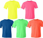 Gildan NEON Heavy Cotton T-Shirt Fluorescent Colors Safety Tee Wholesale S-5XL image