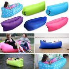 Inflatable Air Bag Sofa Lounge Sleeping Bag Camping Bed Outdoor Beach Hangout US