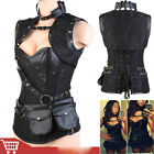 Steampunk Clothing Waist Training Corsets Steel Boned Plus Size Corset 6XL Vest