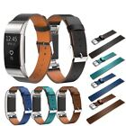 Luxury Leather Wristband Replacement Bracelet Band Strap for Fitbit Charge 2
