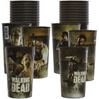 Set of 12 AMC The Walking Dead 20oz Character Tumblers Plastic Cups By Hallmark