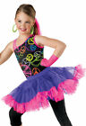 NEW Party Rock Peace Hip Hop Jazz Dance Pageant 80's Competition Costume Wear