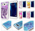 Samsung J1 2016 EXPRESS 3 / Luna S120 GLITTER Case Waterfall Liquid Stars Shiny