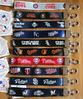 MLB Wristlet Short Lanyard Keychain TEAM COLOR ( ALL TEAMS ) Official Licensed