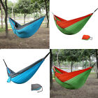 Double Person Camping Hanging Hammock Outdoor Portable Parachute Nylon Fabric