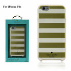 iPhone 6 / 6S KATE SPADE NY DESIGNER CASE SELECTION GOLD HEARTS & STRIPES