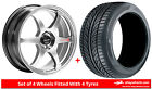 Alloy Wheels & Tyres 17'' Lenso Spec C For Mazda 323 [Mk6] 89-96