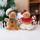 Christmas Gingerbread man Ornaments Festival Xmas Tree Hanging Decoration Mark b